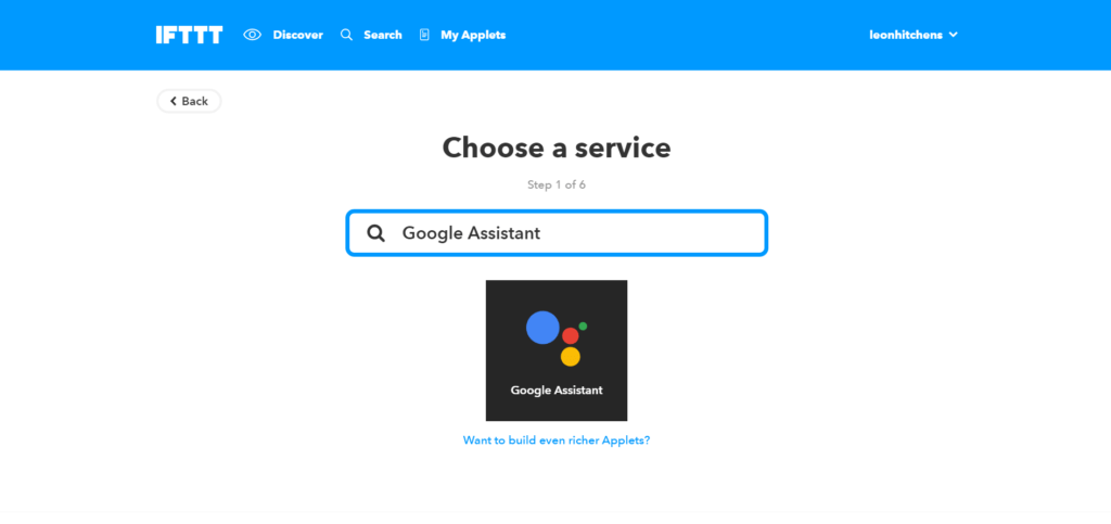 Google Home IFTTT Smart Lights