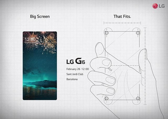 """LG G6 """"Big Screen That Fits"""""""
