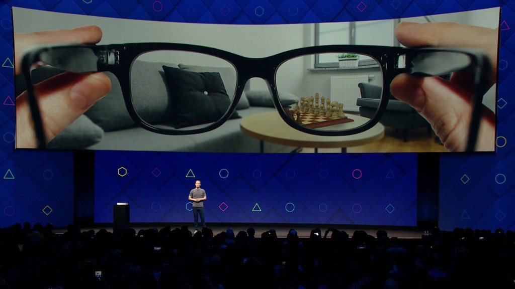 Facebook Augment Reality Glasses