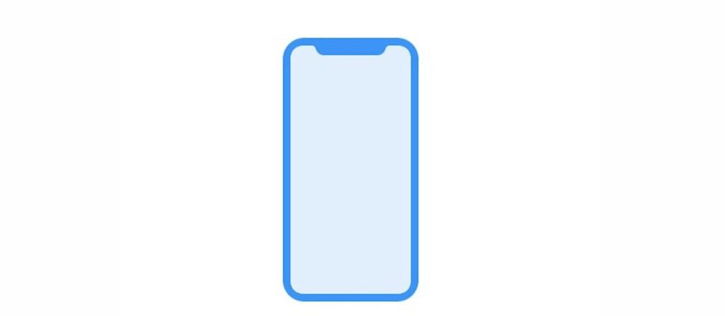 iPhone 8 leaked front display