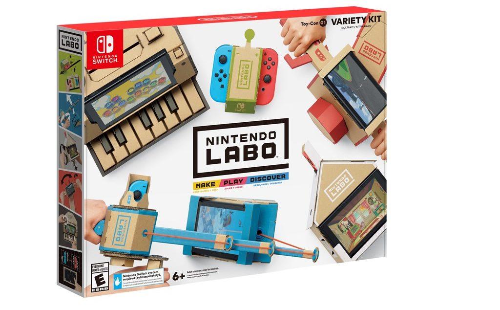 Nintendo Labo Variety Kit Box