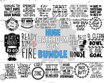 Bathroom Svg Bundle Bathroom Quotes Svg Toilet Svg Bathroom Sign Svg Poop Svg Toilet Paper Svg Farmhouse Svg Restroom Sign Svg Funny Customer Satisfaction Is Our Priority