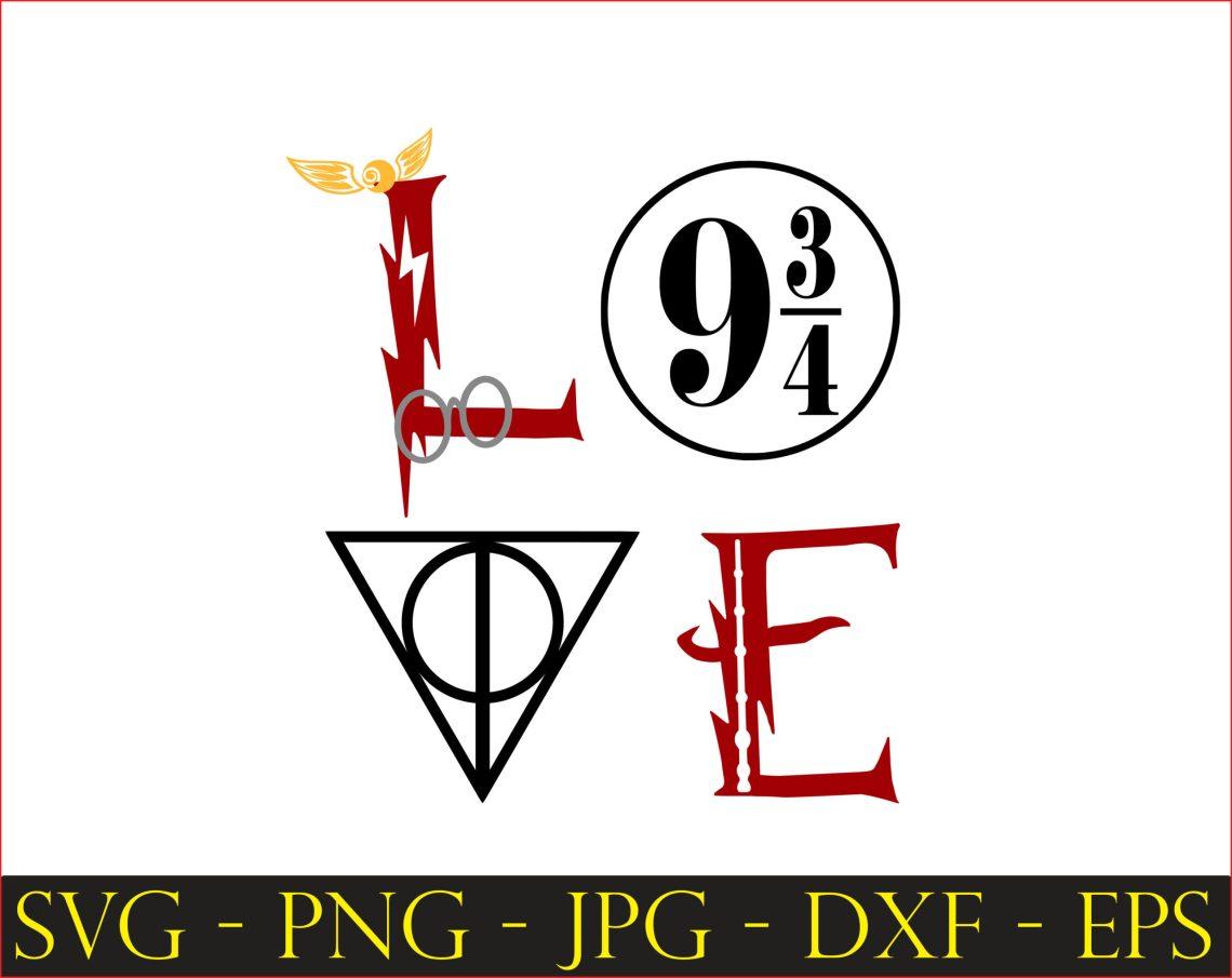 Download Harry potter 9 3 4 svg,Harry Potter SVG, Printable Sorting ...