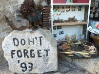 In 1993, Croatian forces destroyed the famous bridge and many of the buildings in Mostar.