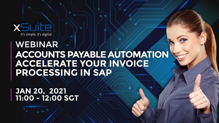 Webinar 20-Jan-21: Accounts Payable Automation – Accelerate invoice processing in SAP