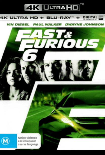 FAST & FURIOUS 6 EXTENDED VERSION 4K UHD iTunes DIGITAL COPY MOVIE CODE ONLY (DIRECT IN TO ITUNES) USA CANADA