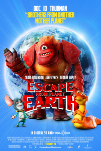 ESCAPE FROM PLANET EARTH HD iTunes DIGITAL COPY MOVIE CODE (DIRECT IN TO ITUNES) CANADA