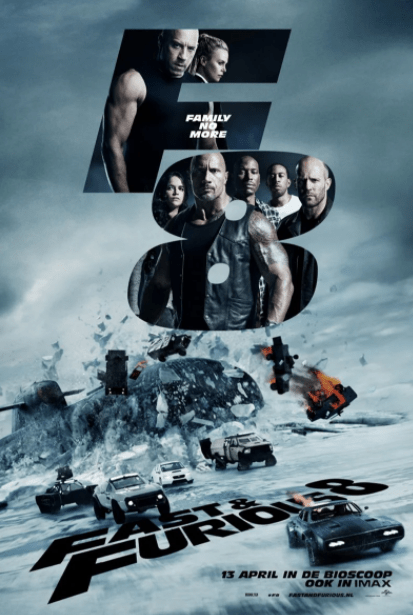 FAST & THE FURIOUS 8 / FATE OF THE FURIOUS (THE) EXTENDED DIRECTOR'S CUT HDX VUDU (USA) / HD GOOGLE PLAY (CANADA) DIGITAL MOVIE CODE ONLY (READ DESCRIPTION FOR REDEMPTION SITE)