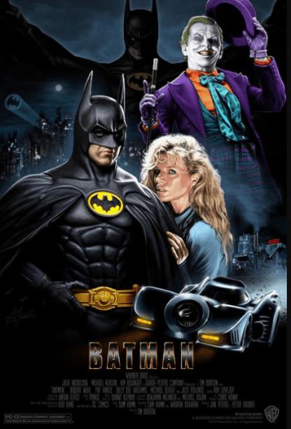 BATMAN (1989) HD GOOGLE PLAY DIGITAL COPY MOVIE CODE (DIRECT IN TO GOOGLE PLAY) CANADA