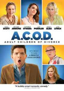 ADULT CHILDREN OF DIVORCE A.C.O.D. HD iTunes DIGITAL COPY MOVIE CODE ONLY (DIRECT IN TO ITUNES) USA CANADA