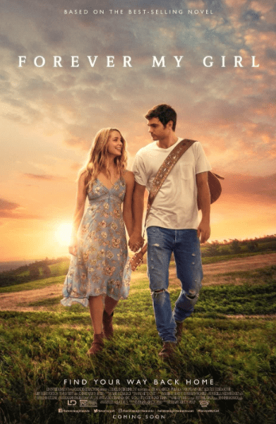 FOREVER MY GIRL HD iTunes DIGITAL COPY MOVIE CODE (DIRECT IN TO ITUNES) CANADA