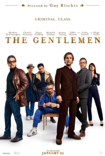GENTLEMEN (THE) 4K UHD iTunes DIGITAL COPY MOVIE CODE (DIRECT IN TO ITUNES) USA