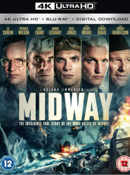 MIDWAY 4K UHD iTunes DIGITAL COPY MOVIE CODE (DIRECT IN TO ITUNES) CANADA