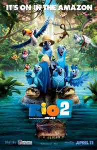 RIO 2 HD iTunes DIGITAL COPY MOVIE CODE (DIRECT IN TO ITUNES ) USA CANADA