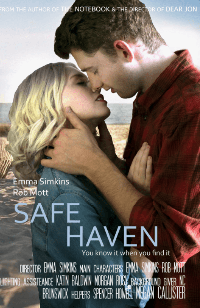 SAFE HAVEN HD iTunes DIGITAL COPY MOVIE CODE (DIRECT IN TO ITUNES) CANADA