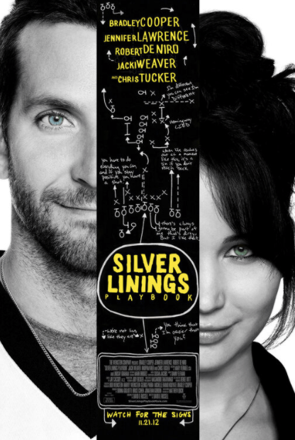 SILVER LININGS PLAYBOOK HD iTunes DIGITAL COPY MOVIE CODE (DIRECT IN TO ITUNES) CANADA