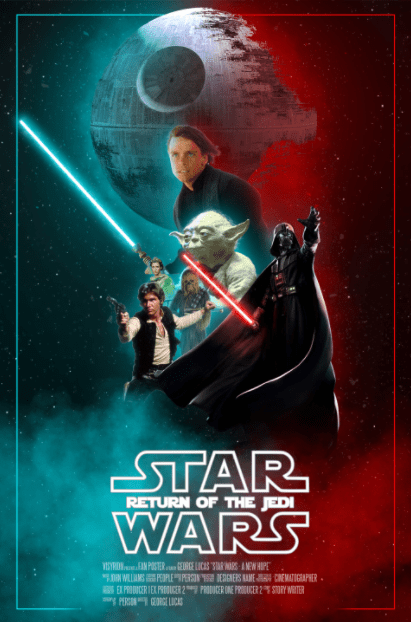 STAR WARS 6 RETURN OF THE JEDI DISNEY HD GOOGLE PLAY DIGITAL COPY MOVIE CODE (DIRECT INTO GOOGLE PLAY) CANADA
