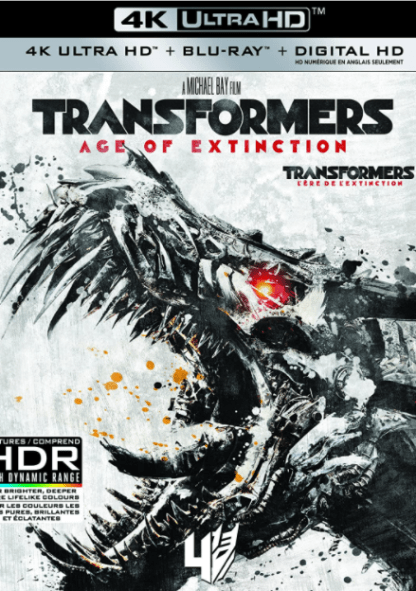 TRANSFORMERS 4 AGE OF EXTINCTION 4K UHD iTunes DIGITAL COPY MOVIE CODE (DIRECT IN TO ITUNES) USA CANADA