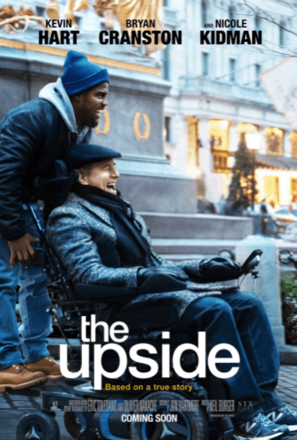 UPSIDE (THE) HD iTunes DIGITAL COPY MOVIE CODE (DIRECT IN TO ITUNES) CANADA