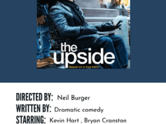 UPSIDE (THE) HD iTunes DIGITAL COPY MOVIE CODE (DIRECT IN TO ITUNES) USA