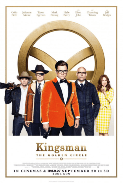 KINGSMAN THE GOLDEN CIRCLE HDX VUDU, HD iTunes, HD GOOGLE PLAY (USA) / HD iTunes (CANADA) DIGITAL COPY MOVIE CODE (CANADIAN CLIENTS READ DESCRIPTION FOR REDEMPTION SITE/STEP INFO)