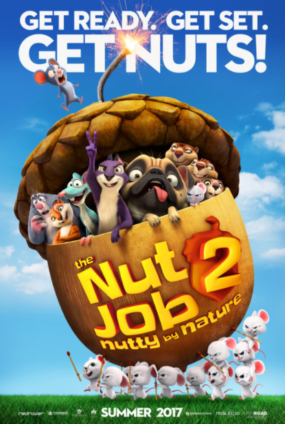 NUT JOB 2 (THE) HD iTunes DIGITAL COPY MOVIE CODE (DIRECT IN TO ITUNES) CANADA