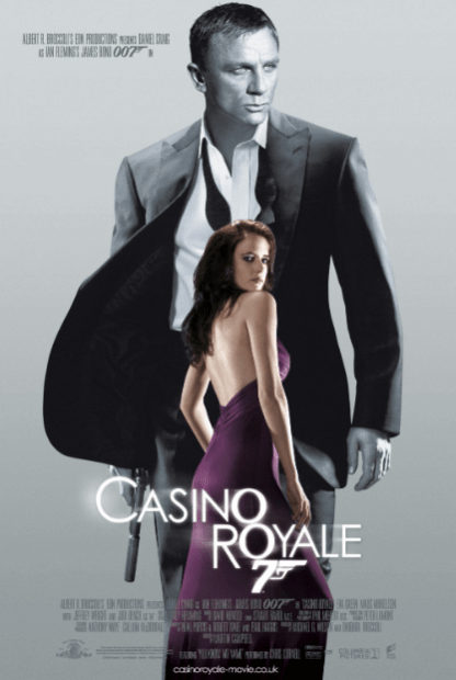 CASINO ROYALE JAMES BOND 007 DANIEL CRAIG HD GOOGLE PLAY DIGITAL COPY MOVIE CODE (DIRECT IN TO GOOGLE PLAY) CANADA