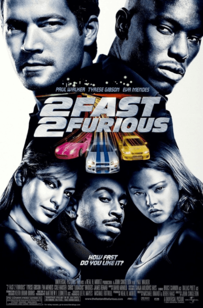 2 FAST 2 FURIOUS HD iTunes DIGITAL COPY MOVIE CODE ONLY (DIRECT IN TO ITUNES) USA CANADA