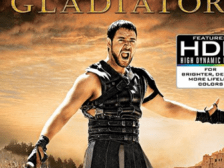 GLADIATOR 4K UHD VUDU DIGITAL COPY MOVIE CODE (READ DESCRIPTION FOR CORRECT REDEMPTION SITE) USA