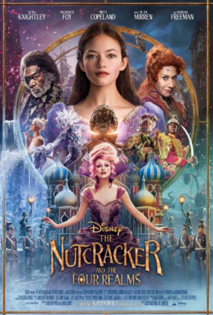NUTCRACKER AND THE FOUR REALMS (THE) DISNEY HD iTunes DIGITAL COPY MOVIE CODE (READ DESCRIPTION FOR REDEMPTION SITE/STEP/INFO) USA CANADA