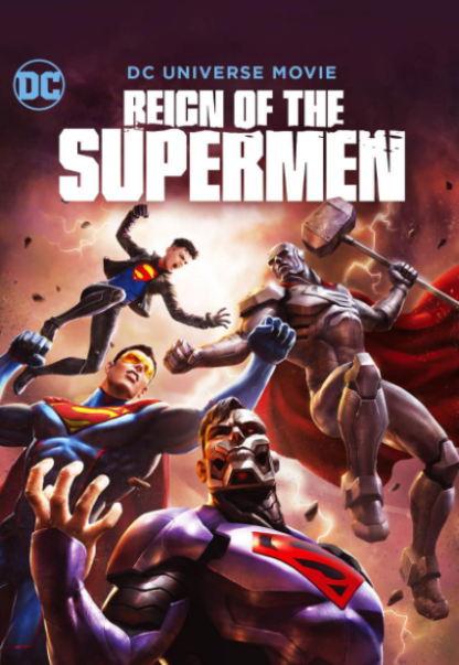 REIGN OF SUPERMAN HD GOOGLE PLAY DIGITAL COPY MOVIE CODE (DIRECT IN TO GOOGLE PLAY) CANADA