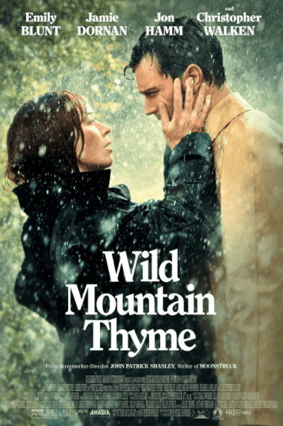 WILD MOUNTAIN THYME HD iTunes DIGITAL COPY MOVIE CODE (DIRECT IN TO ITUNES) CANADA