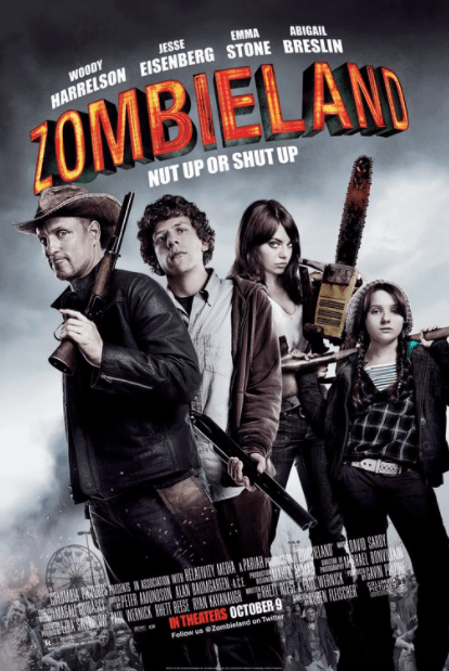 ZOMBIELAND 1 HD GOOGLE PLAY DIGITAL COPY MOVIE CODE (DIRECT IN TO GOOGLE PLAY) CANADA