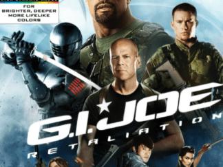 G.I. JOE RETALIATION 4K UHD iTunes DIGITAL COPY MOVIE CODE (DIRECT IN TO ITUNES) USA CANADA
