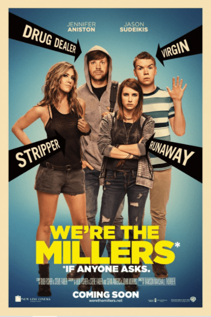 WE'RE THE MILLERS HD GOOGLE PLAY DIGITAL COPY MOVIE CODE (DIRECT IN TO GOOGLE PLAY) CANADA