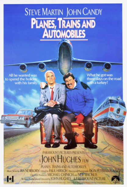 PLANES, TRAINS AND AUTOMOBILES HDX iTunes DIGITAL COPY MOVIE CODE (DIRECT IN TO ITUNES) USA CANADA