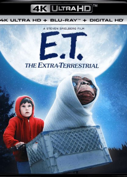 E.T. THE EXTRA-TERRESTRIAL 4K UHD iTunes DIGITAL COPY MOVIE CODE (DIRECT IN TO ITUNES) USA CANADA