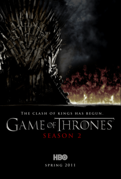 GAME OF THRONES HBO SEASON 2 HDX VUDU DIGITAL COPY MOVIE CODE ONLY (READ DESCRIPTION FOR HBO REDEMPTION SITE) USA