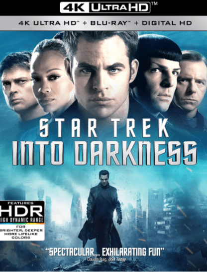 STAR TREK INTO THE DARKNESS 4K UHD iTunes DIGITAL COPY MOVIE CODE (DIRECT IN TO ITUNES) USA CANADA
