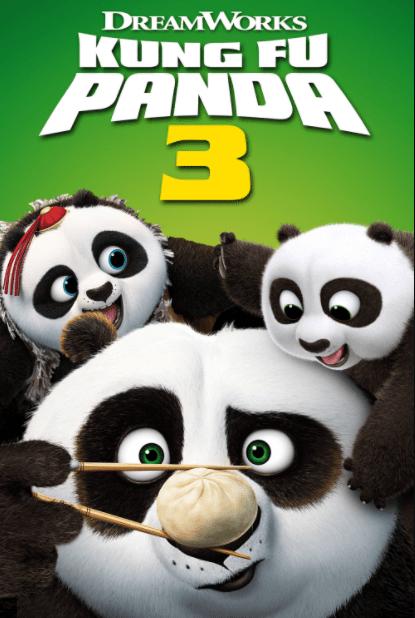 KUNG FU PANDA 3 HD iTunes (USA) / HD iTunes, HD GOOGLE PLAY (CANADA) DIGITAL COPY MOVIE CODE (READ DESCRIPTION FOR REDEMPTION SITE/STEP/INFO)