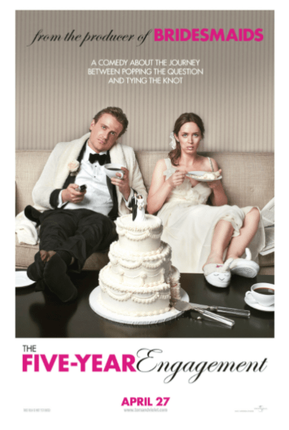 FIVE YEAR ENGAGEMENT (THE) HD iTunes DIGITAL COPY MOVIE CODE ONLY (DIRECT IN TO ITUNES) USA CANADA