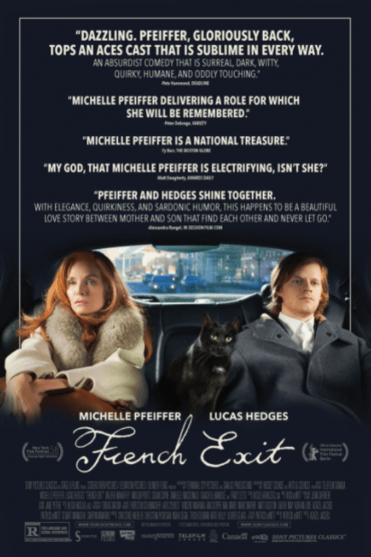 FRENCH EXIT HD iTunes DIGITAL COPY MOVIE CODE (DIRECT IN TO ITUNES) CANADA