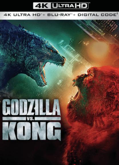 GODZILLA vs KING KONG 4K UHD MOVIES ANYWHERE (USA) / 4K UHD GOOGLE PLAY (CANADA) DIGITAL MOVIE CODE (READ DESCRIPTION FOR REDEMPTION SITE)