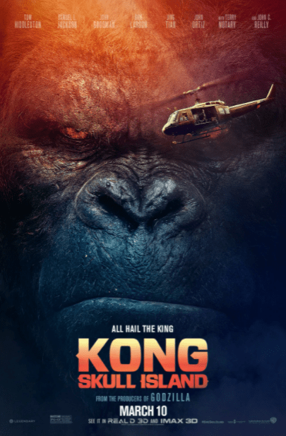 KONG SKULL ISLAND GOOGLE PLAY DIGITAL MOVIE CODE ONLY (DIRECT IN TO GOOGLE PLAY) CANADA