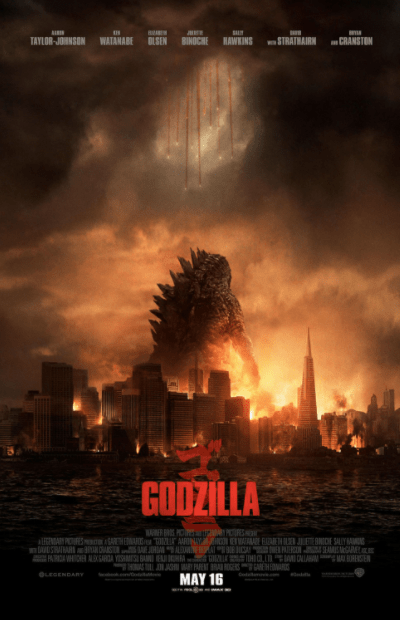 GODZILLA (2014) GOOGLE PLAY DIGITAL MOVIE CODE ONLY (DIRECT IN TO GOOGLE PLAY) CANADA