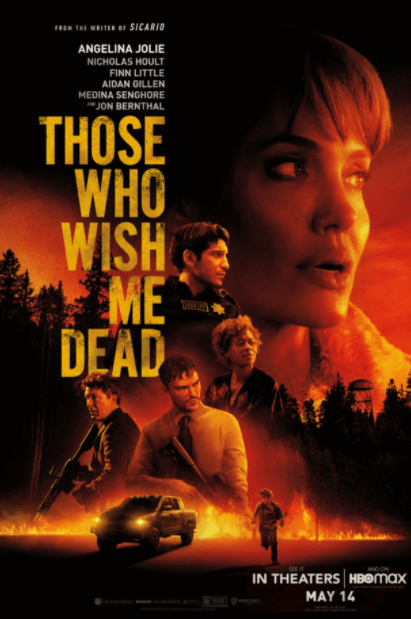THOSE WHO WISH ME DEAD HDX MOVIES ANYWHERE (USA) DIGITAL MOVIE CODE ONLY (MOVIES ANYWHERE)