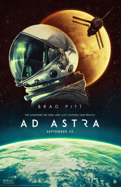AD ASTRA HD GOOGLE PLAY DIGITAL MOVIE CODE ONLY (DIRECT IN TO GOOGLE PLAY) CANADA