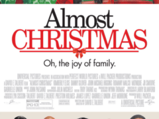 ALMOST CHRISTMAS HD iTunes DIGITAL COPY MOVIE CODE ONLY (DIRECT INTO ITUNES) USA CANADA