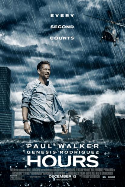 HOURS (PAUL WALKER) SD VUDU DIGITAL MOVIE CODE ONLY (MOVIES ANYWHERE) USA