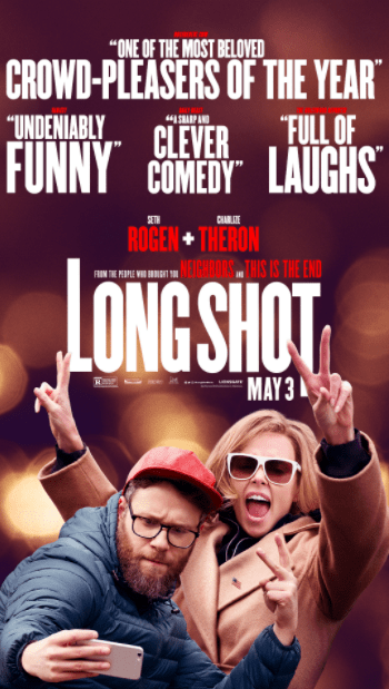 LONG SHOT HD iTunes DIGITAL COPY MOVIE CODE (DIRECT IN TO ITUNES) CANADA